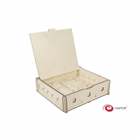 Board Game Storage Boxes - Universal Box Medium (Wooden)