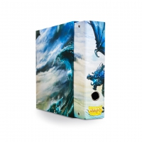 Dragon Shield - Slipcase Binder Blue Art Dragon