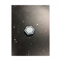 Shield Token acrylic set compatible with X-Wing (5 Stück)