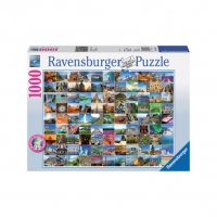 Puzzle - 99 Beautiful Places on Earth (1000 Teile)