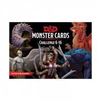 Dungeons & Dragons - Monster Cards, Challenge 6-16 (125 Cards)