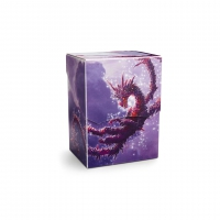 Dragon Shield - Deck Shell Clear Purple- Drache Racan  - limitiert