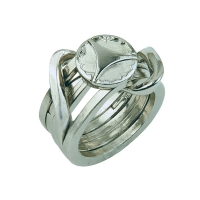 Cast Puzzle Ring II - Metallpuzzle - Level 5