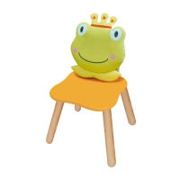 Childrens chair Frog Prince pastell