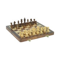 Rosewood Chess Set - Magnetic - 25x12 cm - King size 50 mm