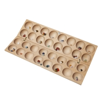 BAO / HUS - two Mancala-games on one board
