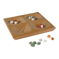 Due conGa - tricky game with semi precious stones and hollows