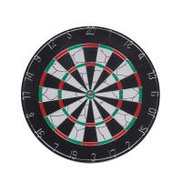 Longfield Dart Board Nylon Flock 25 mm with 6 Darts