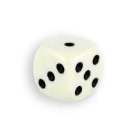 Würfel - dice - weiß
