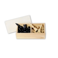 Chessmen maple - king size 76 mm