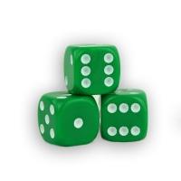 Würfel - dice - grün