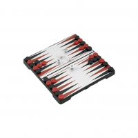 Travel backgammon 16 x 16 cm