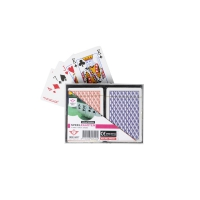 Playing cards double deck made of plastic 2x54 sheet