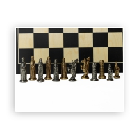 Chess figures - metal - Lothario - King size 60mm