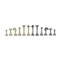 Chess figures - Brass - Staunton - King size 68mm