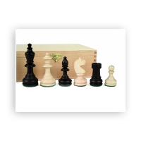 Chess figures - Bohemia - Tournament size - Staunton - king size 96mm