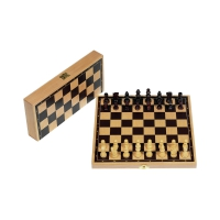 School Chess Set - with numbers and letters - king size 55 mm