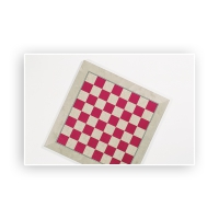 Chessboard - inlay - with dentil - Width 40 cm - field size 40 mm