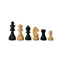 chessmen - Staunton - black - King height 83 mm