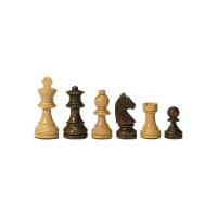 Chesmen Set- Staunton - brown - king height 76 mm