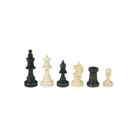 Chessmen - Bohemia - Staunton - brown - king height 72 mm