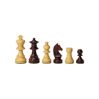 chessmen - Rosewood and Buxus - king height 76 mm