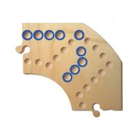Brändi Dog - Ersatzsegment - Spielbrett - blau