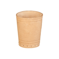 Leather-dice cup - ca. 8 cm x 6 cm