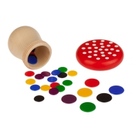 Flea game - for 2-6 players - made from plastic