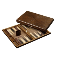 Backgammon - Rinia - large - cassette - with dice cup
