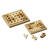 Tricky Numbers - bamboo - bamboo - 10 puzzle pieces